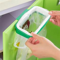 Mini Portable Plastic Door Garbage Trash Bag Can Rack Holder