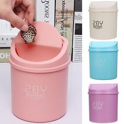 Mini Small Trash Can For Desktop Garbage Basket Table Home O