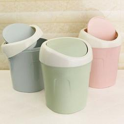 Mini Small Waste Bin Desktop Garbage Basket Table Home Offic
