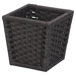 Household Essentials ML-7032 Paper Rope Wicker Waste Basket
