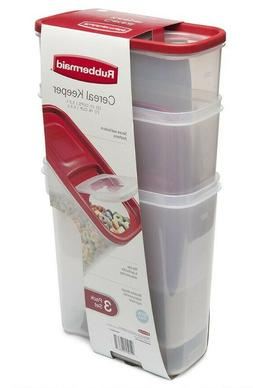 Rubbermaid Modular Cereal Keeper Container 22 Cup Large
