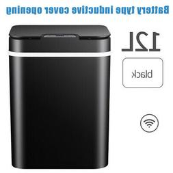 Motion Sensor Automatic Trash Can 12L Garbage Touchless Stai