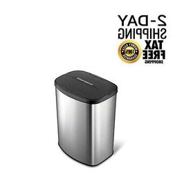 Automatic Garbage Can Motion Sensor Stainless Steel Trashcan