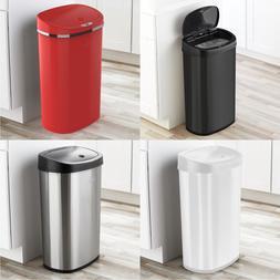 Motion Sensor Trash Can 13 Gallon Garbage Touchless Automati
