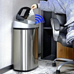 Motion Trash Sensor Can Touchless Stainless Steel Automatic