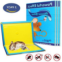 Mouse Glue Trap, Rat Glue Traps, Strongly Adhesive & Extra L