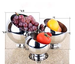 Multi-size Kitchen Stainless Steel Metal Mixing Pre Bowl Bev