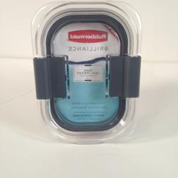 NEW! Rubbermaid Brilliance Small Container 1.3 Cup 100% Leak