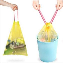 New Drawstring Kitchen Trash Bags 6 Gallon Trash Can Liners