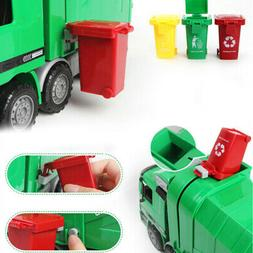 New Mini Kids Garbage Classification Trash Can Truck Cans Cu