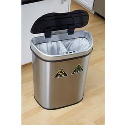 Nine Stars 18.5-Gallon Motion Sensor Recycle Unit and Trash