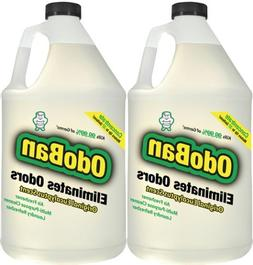 OdoBan Odor Eliminator 2 Gallons Concentrate Makes Up To 64