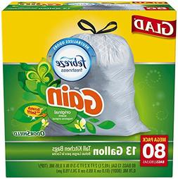 Glad Odor Shield Tall Kitchen Bags with Gain Original Scent
