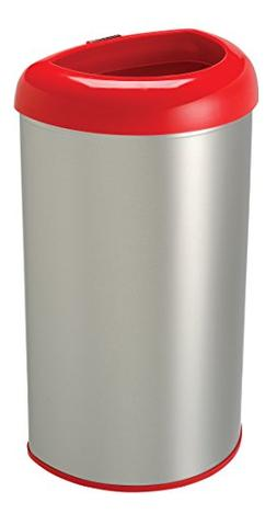 Nine Stars 13.2-Gallon Open Top Trash Can