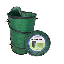 Oswego Pop-Up Collapsible Travel Camping Trash Garbage Recyc
