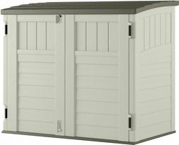 Rubbermaid Outdoor Storage Shed for Frame Easy Set Above Gro