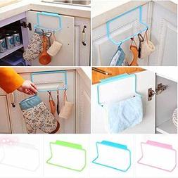 Agordo 4 Colors Over Door Tea Towel Rack Bar Shelf Organizer
