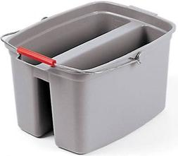 pail double 19 qt gray