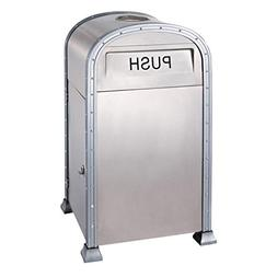 Park Classification Trash Can Stainless Steel Outdoor With A