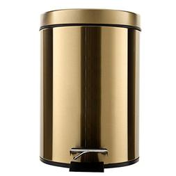 DDSS Pedal Stainless Steel Trash Can Home Bathroom Large Cre
