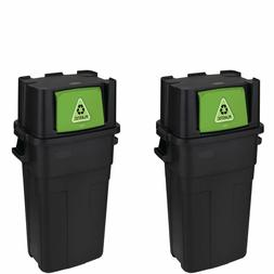 Personal Recycle Bin Trash Can Large Garbage Waste 30 Gallon