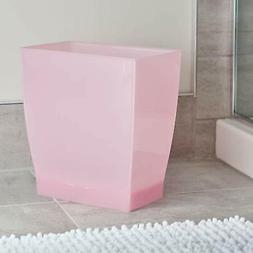 Pink Garbage Can Rectangular Kitchen Trash Can without Lid W