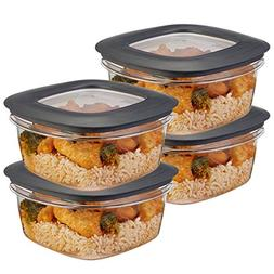 Rubbermaid  5-Cup Plastic Food Storage Container Set BPA-Fre