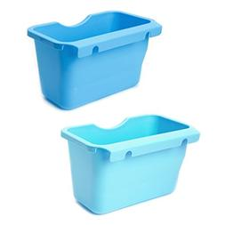 Yuly Plastic Kitchen Cabinet Door Hanging Trash Garbage Can