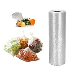 """12"""" x 20"""" Plastic Produce Bag on Roll, 350 Bags for Fruits,"""