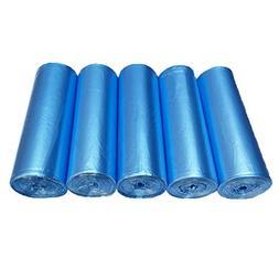 2.6 Gallon Small Plastic Trash Bags, 10 Liters Blue Wastebas