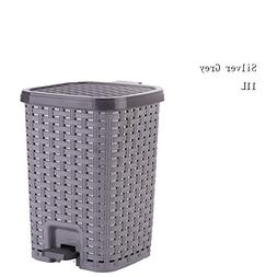 Large capacity plastic waterproof kitchen foot trash home cr