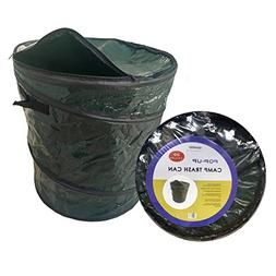 Oswego Pop-Up Collapsible Travel Camping Garbage Trash Recyc
