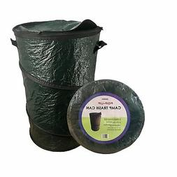 Oswego Pop-Up Collapsible Travel Camping Trash Garbage Can