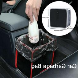 Portable Car Trash can Back Seat Organizer Auto Garbage Bag