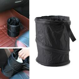 Portable Car Trash Can Garbage Wastebasket Rubbish Box Bag D