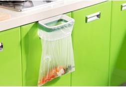 Portable Door Garbage Trash Bag Box Can Rack Plastic Hanging