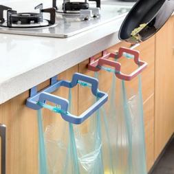 Portable Plastic Door Garbage Trash Bag Box Can Rack Hang Ho