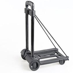 Jenify Portable Shopping Cart Folding Trolley Iron Luggage C