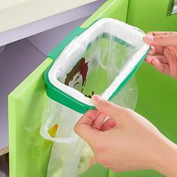 DLciwi Portable Trash Bag Holder Hanging Cupboard Door Back