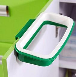 Pack of 2 Portable Trash Bag Holder Hanging Kitchen Cupboard