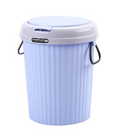 Peacewish PP Plastic Lid Type Trash Can Creative Household H