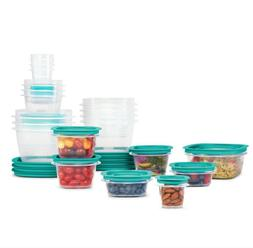 Rubbermaid Press & Lock Easy Find Lids Food Storage Containe