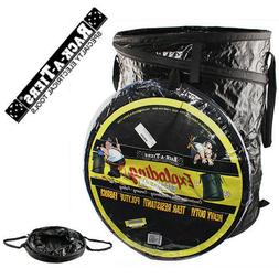 Rack-A-Tiers Exploding Heavy Duty Garbage Can Collapsible Tr