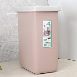 Rectangle Plastic Trash Bin Kitchen/Bedroom Rectangle Trash