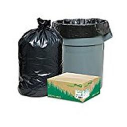 Recycled Large Trash and Yard Bags, 33gal, .9mil, 32.5 x 40,