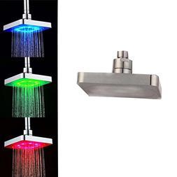 NewKelly RGB 7 Colorful LED Light Water Bath Bathroom Filtra
