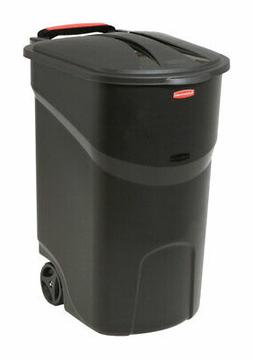 Rubbermaid Roughneck 45 gal. Resin Wheeled Garbage Can Lid I