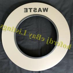 Round Metal Garbage Can Receptacle Replacement Ring Waste Li