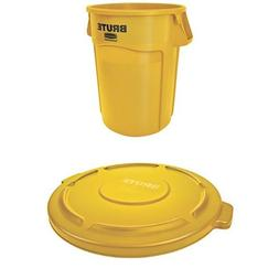 Rubbermaid Commercial BRUTE Container with Venting Channels