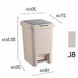 HQLCX-Rubbish Bin Rubbish Bin Plastic Garbage Cans Bathroom